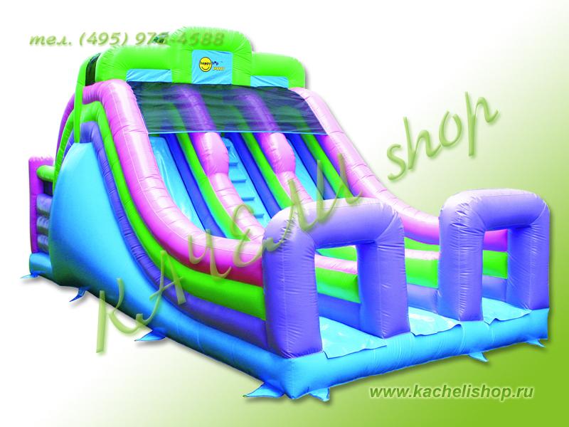 Надувной батут happy hop 9082n мега горка в интернет-магазине: технические характеристики, цены, доставка :) технозал